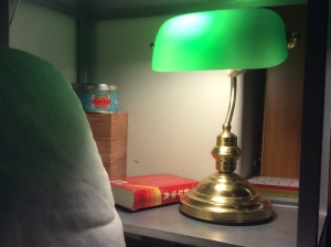 The green banker's lamp